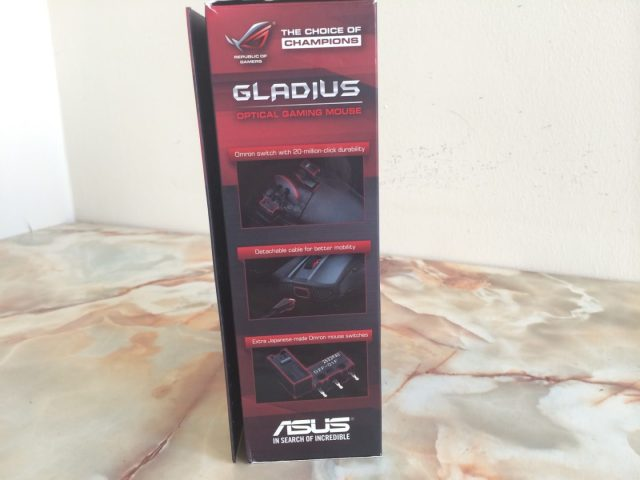 Unboxing & Review: ASUS ROG Gladius Gaming Mouse 5