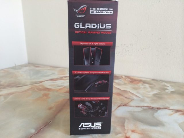 Unboxing & Review: ASUS ROG Gladius Gaming Mouse 6