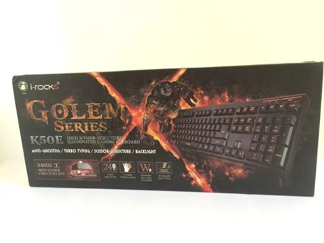 Unboxing & Review: i-Rocks Golem Series K50E Illuminated Gaming Keyboard 45