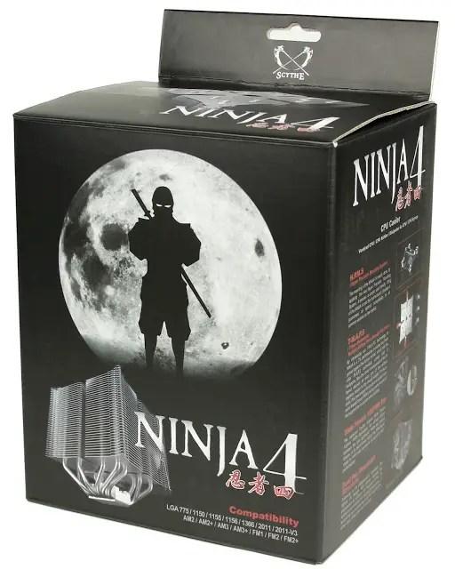 Scythe presents new Ninja 4 CPU Cooler 18