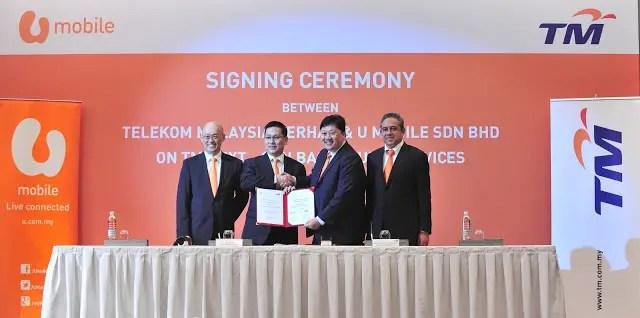 TM & U MOBILE INKS COLLABORATIVE DEAL FOR NEXT-GEN BACKHAUL™ SERVICES 3