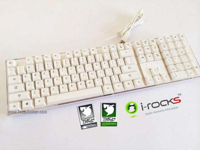 Unboxing & Review: i-Rocks IK6 Crystal USB Keyboard 60