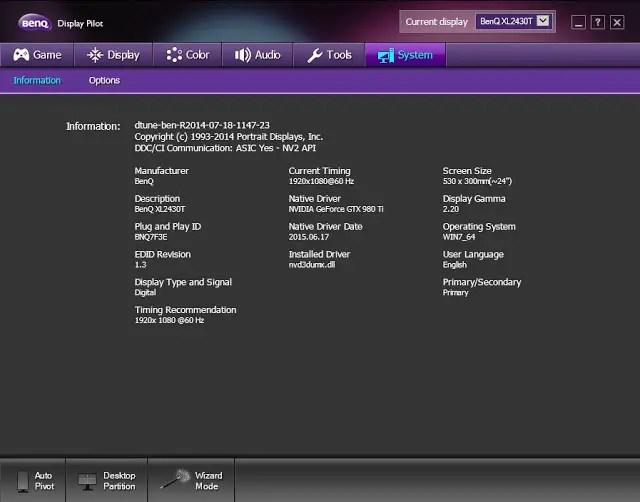 Review: BenQ XL2430T Gaming Monitor 118