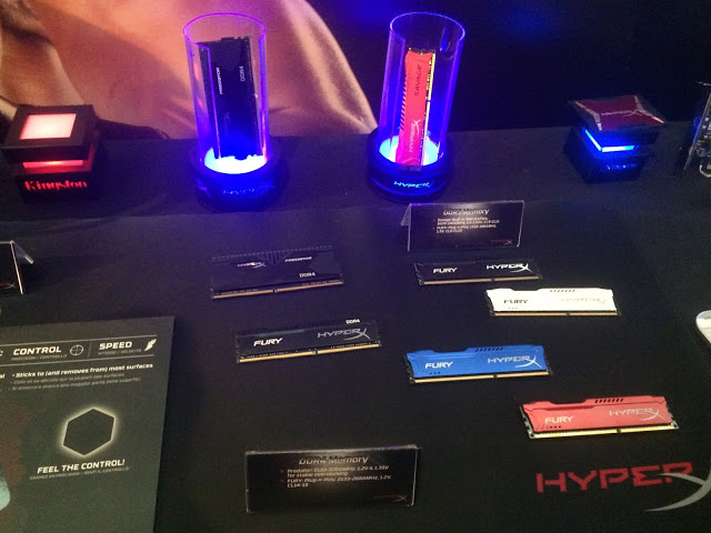 Kingston showcase its latest line up of Kingston and HyperX products with a performance that you'll never forget 8