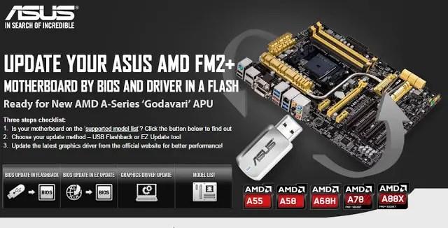 ASUS Announces Support for AMD A-Series 'Godavari' APUs 3