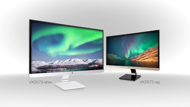 ViewSonic Announces the New 25-inch IPS Multimedia Displays with an Elegant Design and Health Care Benefits 7