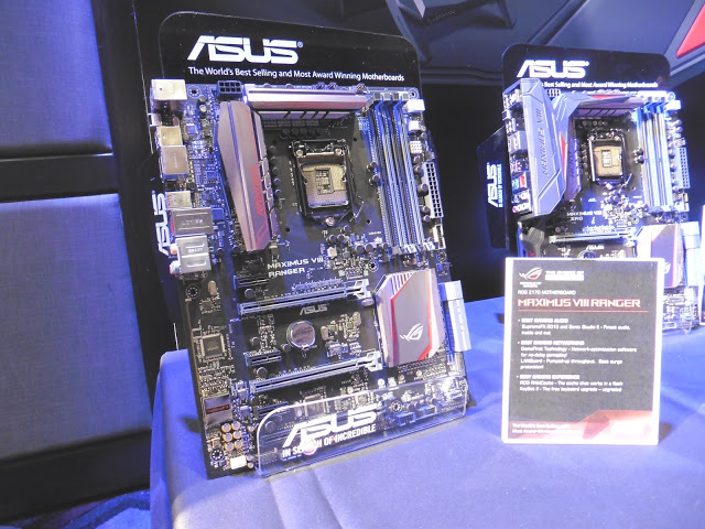 ASUS Technical Seminar 2015: ASUS Z170 motherboards get not only new features but also major change in the appearance 32