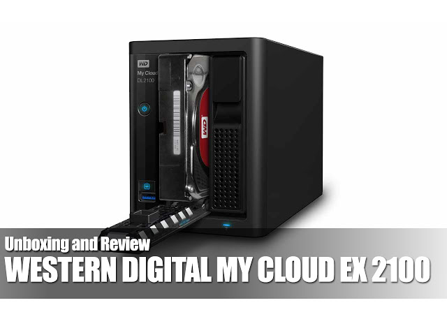 WD My Cloud Expert Series EX2100 8TB NAS Review 1