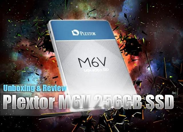 Plextor M6V 256 GB SSD Review 1