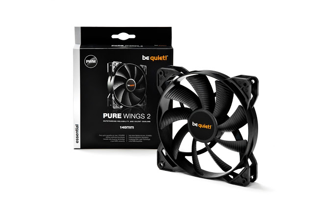 be quiet! Pure Wings 2 PWM: excellent entry-level fans get even better 3