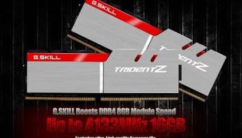 G SKILL Announces Trident Z DDR4-4266MHz 16GB (8GBx2) 1 35V