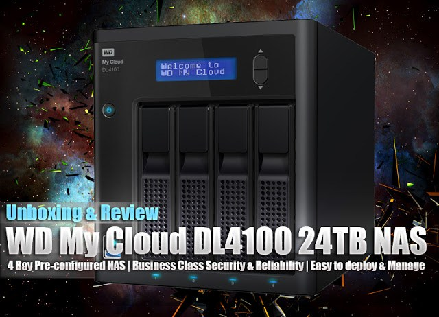 WD My Cloud Business Series DL4100 24TB NAS Review