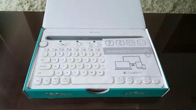Unboxing & Review: Logitech K480 Bluetooth Multi-Device Keyboard 23