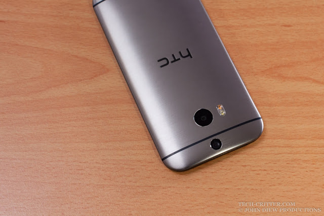 Unboxing & Review: HTC One M8 Eye 26
