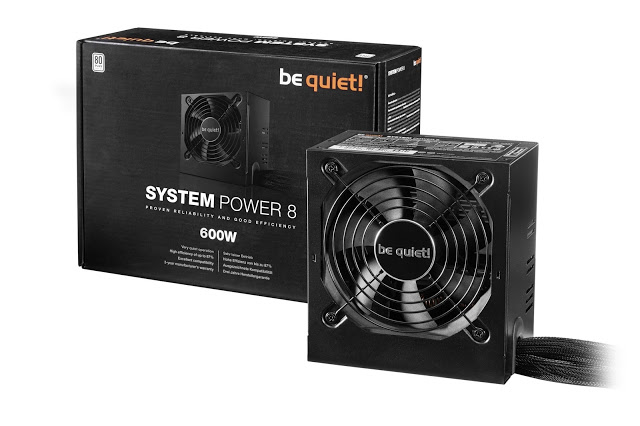 be quiet! introduces the all new System Power 8: 80PLUS certified and multi-GPU capable entry-level power supplies 3