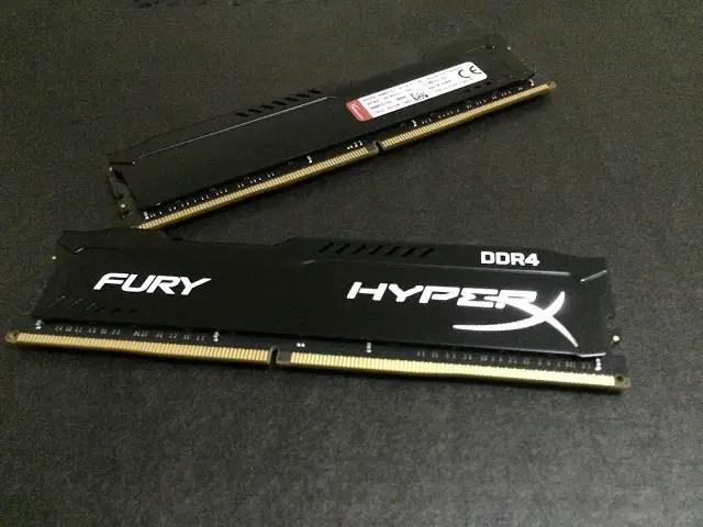 Kingston HyperX Fury DDR4 16GB Memory Kit Review 4