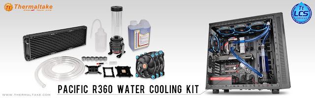 Thermaltake Pacific R360 D5 Water Cooling Kit at CES 2016 Groundbreaking Custom LCS Combo Unit 11