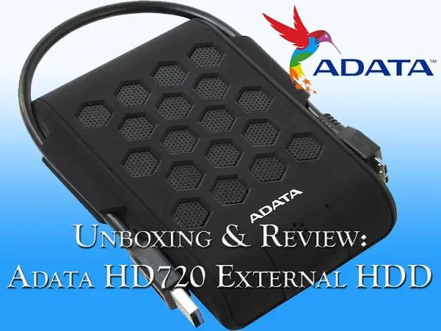 Unboxing & Review: Adata HD720 External HDD 31