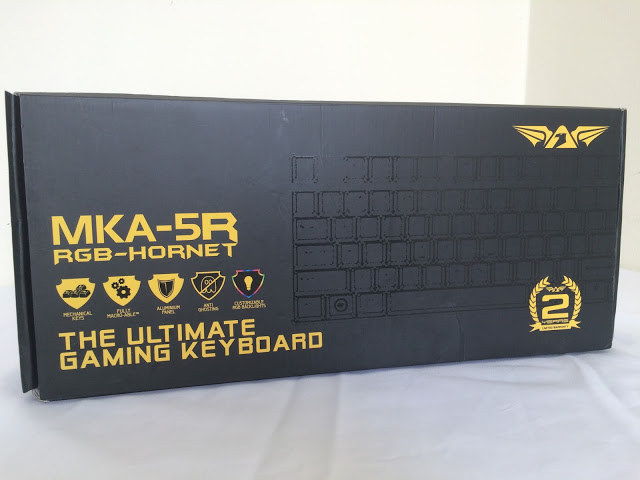Unboxing & Review: Armaggeddon MKA-5R RGB-HORNET Gaming Mechanical Keyboard 2