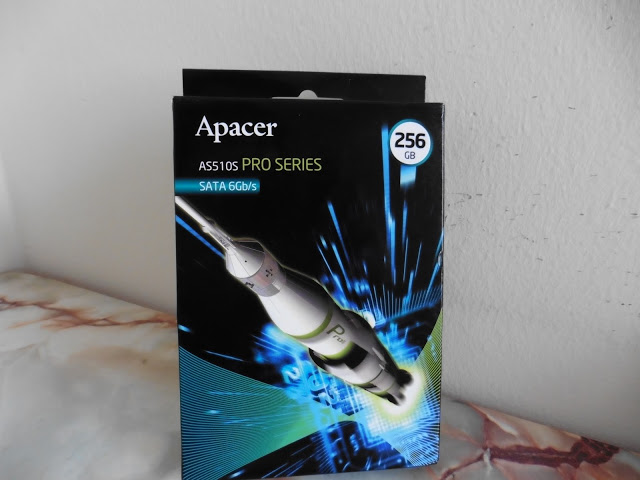 Unboxing & Review: Apacer AS510S Pro Series SSD 256GB 3