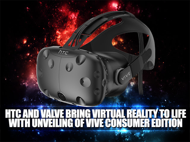 HTC Reveals Complete Consumer Edition Vive System at Mobile World Congress 2016 7