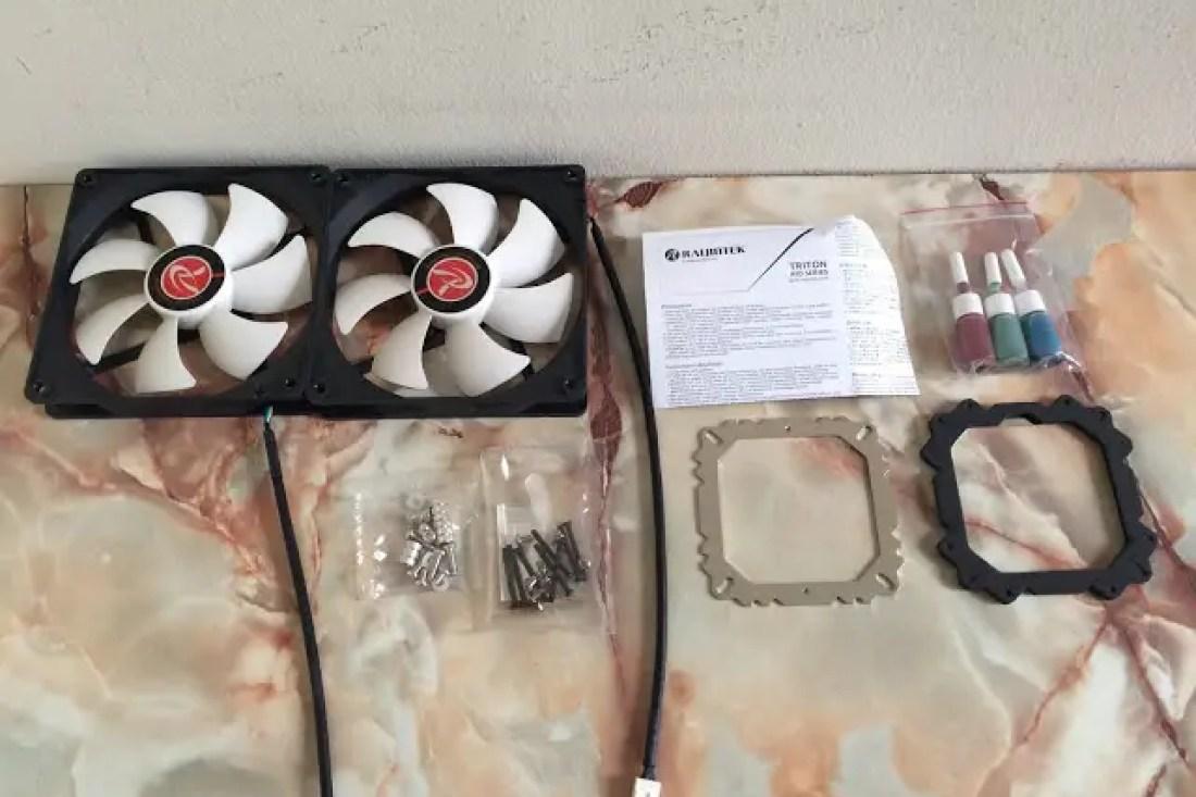 Unboxing & Review: Raijintek Triton 280 Liquid Cooler 3