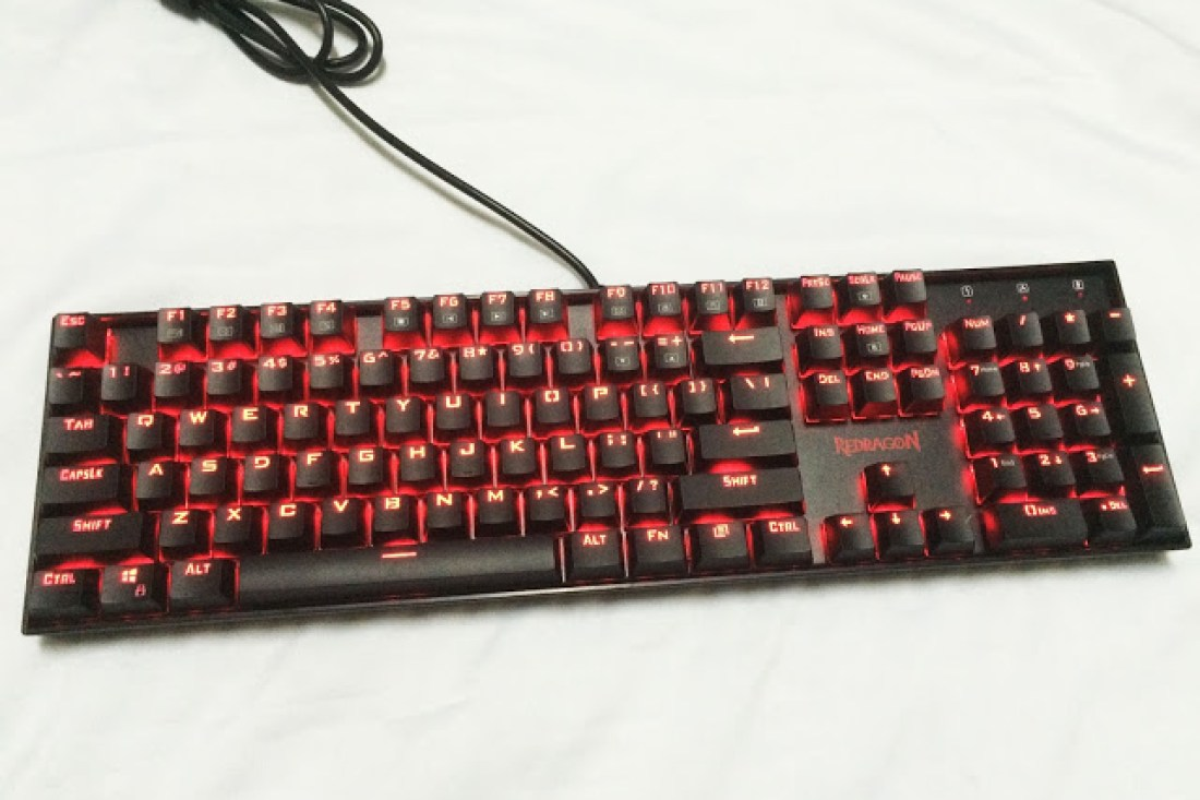 Unboxing & Review: Redragon Vara Gaming Mechanical Keyboard 10