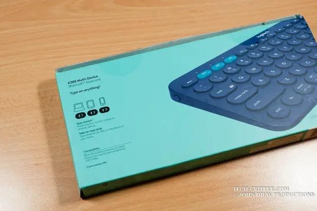 Unboxing & Review: Logitech K380 Bluetooth Multi Device Keyboard 41