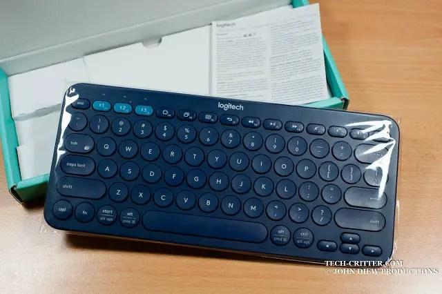 Unboxing & Review: Logitech K380 Bluetooth Multi Device Keyboard 43