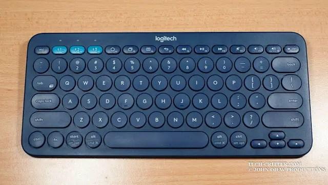 Unboxing & Review: Logitech K380 Bluetooth Multi Device Keyboard 51