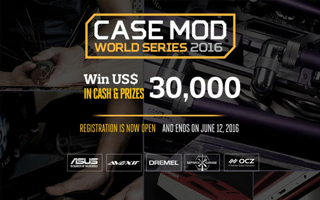 Cooler Master Case Mod World Series 2016 Highlights #1 33