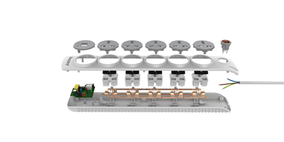 Huntkey Launches the Latest SZN607 Power Strip with Dual USB and Child Protection 18