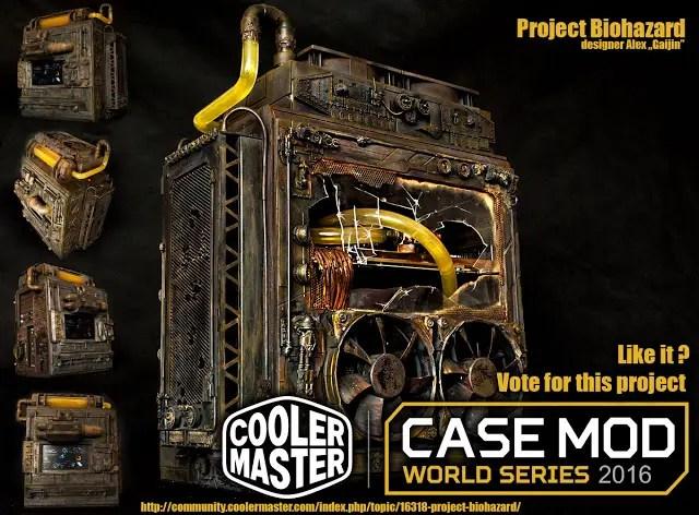 Cooler Master Case Mod World Series 2016 Highlights #1 34
