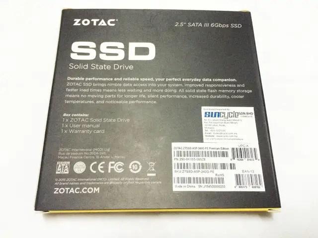 Unboxing & Review: ZOTAC 240GB Premium Edition SSD 41