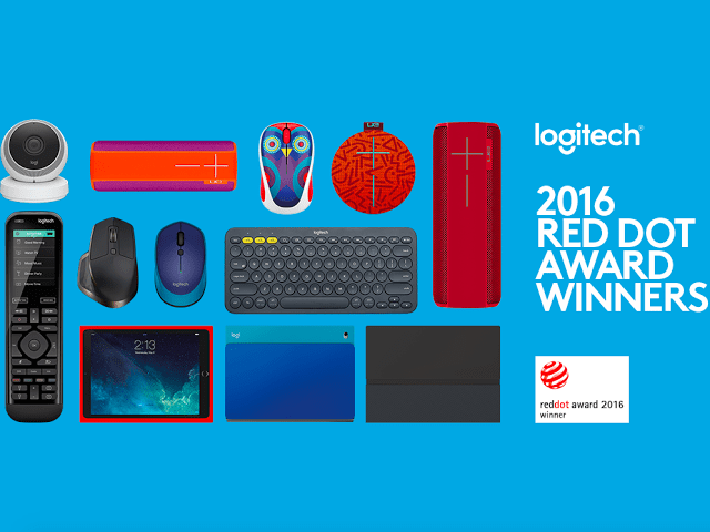 Logitech Breaks Company Record with Nine Red Dot 2016 Product Design Awards 3