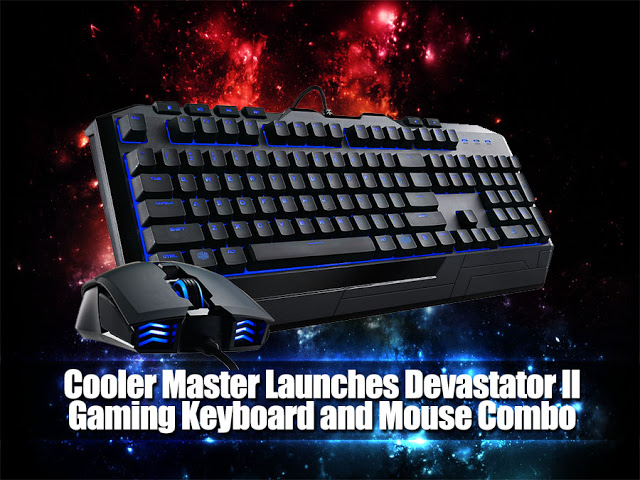 Cooler Master Launches Devastator II Gaming Keyboard and Mouse Combo 1