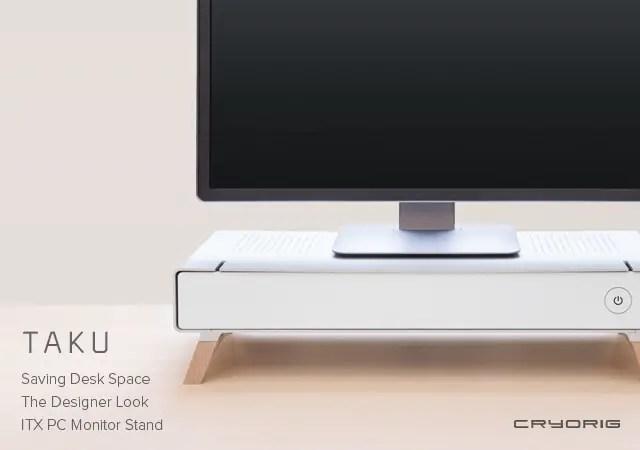 CRYORIG Reveals New OLA and TAKU PC Cases at Computex 11