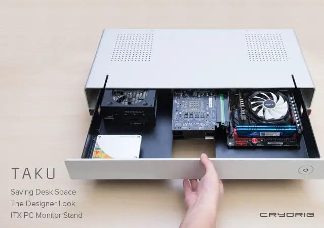 CRYORIG Reveals New OLA and TAKU PC Cases at Computex 12