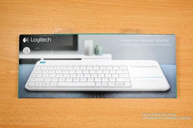 Unboxing & Review: Logitech Wireless Touch Keyboard K400 Plus 46