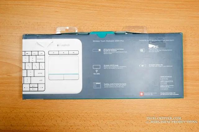 Unboxing & Review: Logitech Wireless Touch Keyboard K400 Plus 47