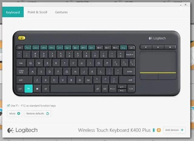 Unboxing & Review: Logitech Wireless Touch Keyboard K400 Plus 62