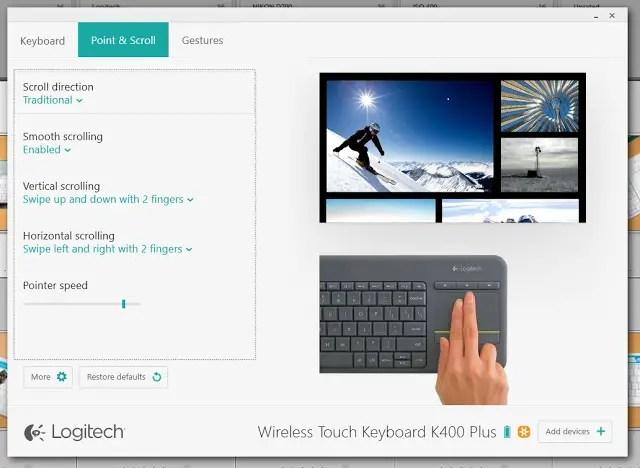 Unboxing & Review: Logitech Wireless Touch Keyboard K400 Plus 63