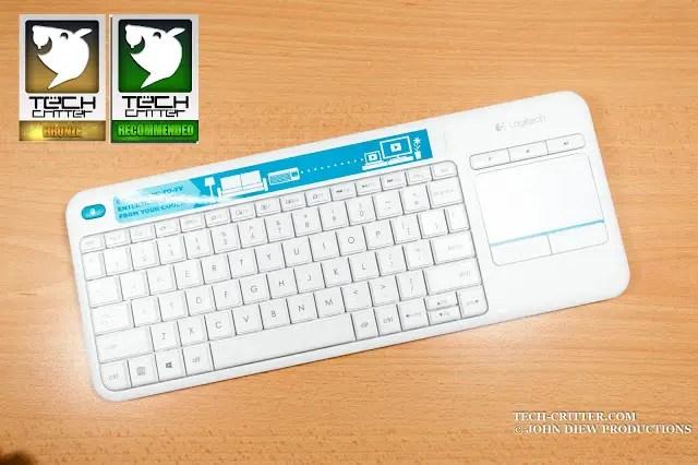 Unboxing & Review: Logitech Wireless Touch Keyboard K400 Plus