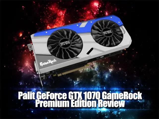 Unboxing & Review: Palit GeForce GTX 1070 GameRock Premium Edition 43