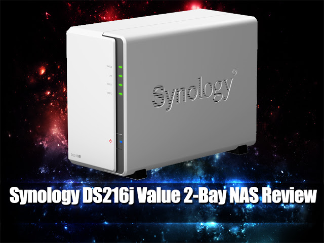 Unboxing & Review: Synology DS216j Value 2-bay NAS