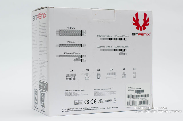 Unboxing & Preview: Bitfenix BPA600 Power Supply 29