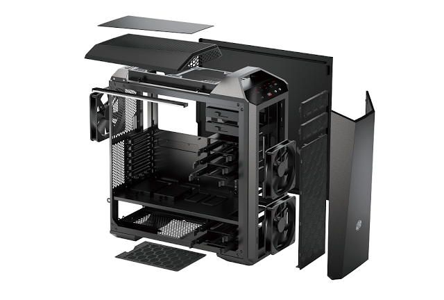Cooler Master Launches MasterCase Maker 5 with FreeForm™ Modular System 21