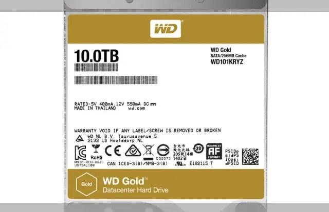 Western Digital Now Offers 10TB WD Gold Enterprise-Class Hard Drives 5