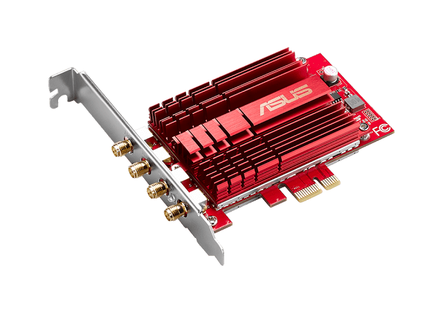 ASUS Announces The PCE-AC88U - 2100Mbps Capable 4x4 dual-band AC3100 Wi-Fi PCIe, At RM509 7