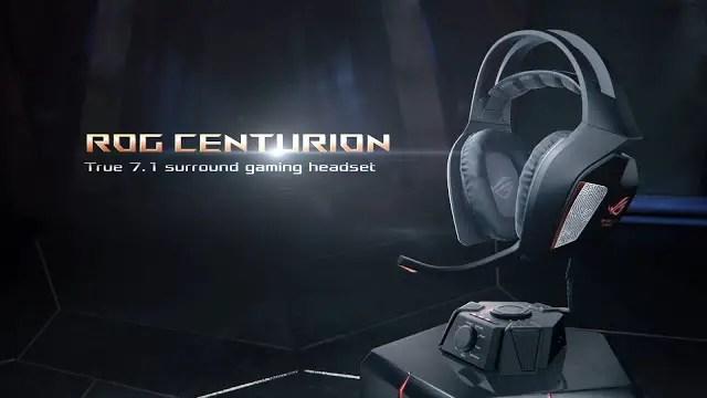 ASUS Republic of Gamers Announces Centurion, Premium 7.1-Channel Surround-sound Gaming Headset 11